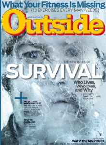 OUTSIDE MAGAZINE. Survival: Who lives, who dies, and why.