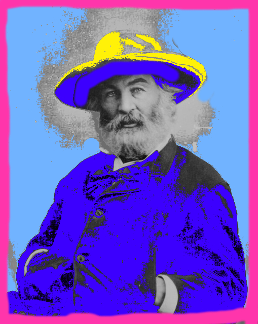 Walt Whitman in his special hat.