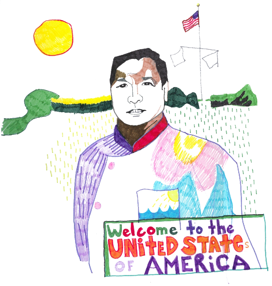Welcome to the United States of America, George Bush's cook Ariel De Guzman